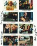 Martin Stephens & Pamela Franklin & Lesley Scoble- Genuine Signed Autograph 7075